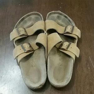 Birkenstock Tan Arizona Sandal